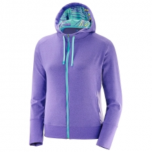 CHILL CERAMIC FZ HOODIE W by Salomon