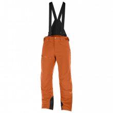 Men's Chill Out Bib Pant by Salomon in Golden CO