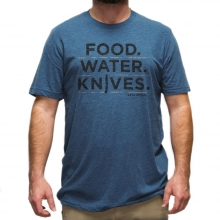 T-Shirt, Food.Water.Knives by Benchmade in Valencia Ca