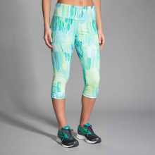 Women's Greenlight Capri by Brooks Running in Des Peres Mo