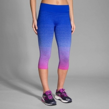 Women's Streaker Capri by Brooks Running in Okemos Mi