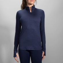 Women's Dash 1/2 Zip by Brooks Running in Squamish British Columbia