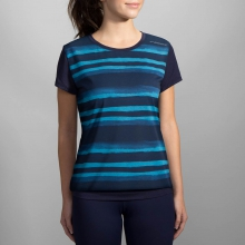 Women's Run-Thru Short Sleeve by Brooks Running