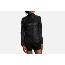 Women's LSD Jacket by Brooks Running in Mystic Ct