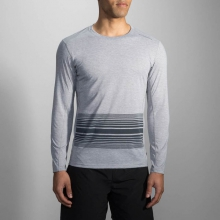 Men's Distance Long Sleeve by Brooks Running in Lake Orion Mi
