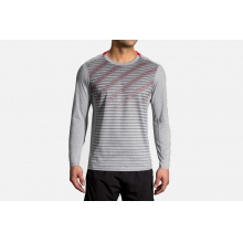 Men's Distance Long Sleeve by Brooks Running in Cedar Falls IA