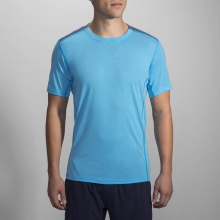 Men's Distance Short Sleeve by Brooks Running in Mt Pleasant Mi