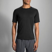 Men's Distance Short Sleeve by Brooks Running in Rancho Cucamonga Ca