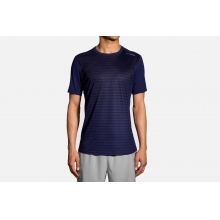 Men's Distance Short Sleeve by Brooks Running in Flagstaff Az