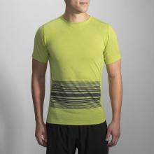 Men's Distance Short Sleeve by Brooks Running in Ashburn Va