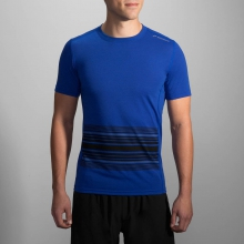 Men's Distance Short Sleeve by Brooks Running in Columbus Ga