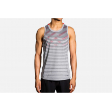Men's Distance Tank by Brooks Running in Mystic Ct