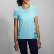 Women's Distance Short Sleeve by Brooks Running in Ashburn Va