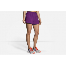 "Women's Go-To 3"" Short by Brooks Running in Mystic Ct"