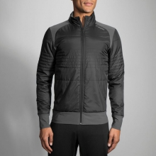 Men's Cascadia Thermal Jacket by Brooks Running