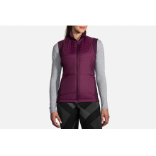 Women's Cascadia Thermal Vest by Brooks Running in Cedar Falls IA