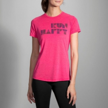 Women's Run Happy Tee