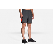 """Men's Sherpa 7"""" 2-in-1 Short by Brooks Running in Concord Ca"""