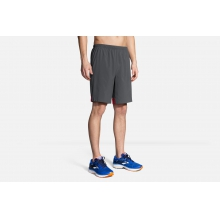 "Men's Go-To 9"" Short by Brooks Running in Mystic Ct"