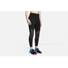 Women's Ghost High-Waist Mesh Crop by Brooks Running