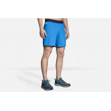 "Men's Cascadia 7"" 2-in-1 Short by Brooks Running in Carbonia Ci"
