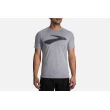 Men's Distance Graphic T-Shirt by Brooks Running