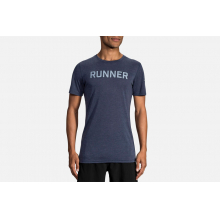 Men's Distance Graphic Tee by Brooks Running