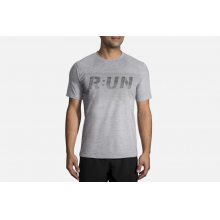 Men's Distance Graphic Tee by Brooks Running in Tucson Az