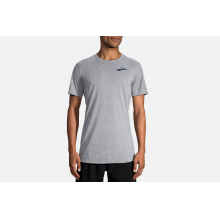 Men's Distance Graphic Tee by Brooks Running in Chico Ca