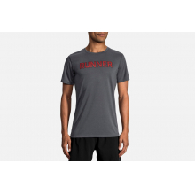 Men's Distance Graphic Tee by Brooks Running in North Vancouver Bc
