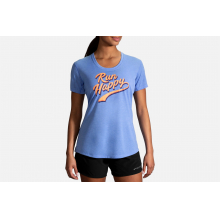 Women's Distance Graphic Tee by Brooks Running in Lancaster PA