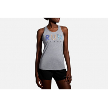 Women's Distance Graphic Tank by Brooks Running in Colorado Springs CO