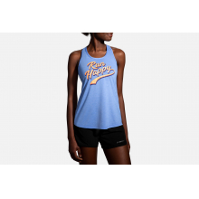 Women's Distance Graphic Tank by Brooks Running