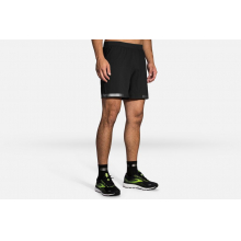 "Men's Carbonite 7"" 2-in-1 Short by Brooks Running"