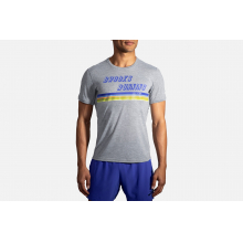 Men's Distance Graphic Short Sleeve by Brooks Running