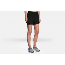 """Women's Chaser 5"""" 2-in-1 Short by Brooks Running in Allison Park PA"""