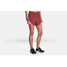 "Women's Chaser 5"" 2-in-1 Short by Brooks Running in Middleton WI"