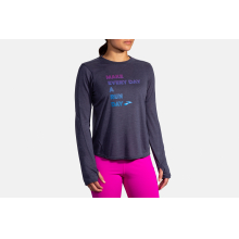Women's Distance Graphic Long Sleeve by Brooks Running in Louisville CO