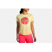 Women's Distance Graphic Short Sleeve by Brooks Running in Louisville CO