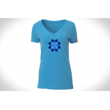 Women's Lotus Tee Tri-Blend by DPS Skis