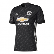 Men's Manchester United Away Authentic Jersey by Adidas