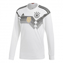 adidas Men's Germany Home Replica Long Sleeve Jersey by Adidas