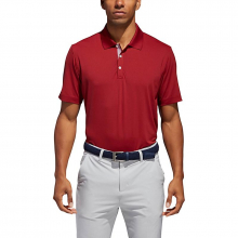 Men's Adipure Spring Polo Shirt by Adidas