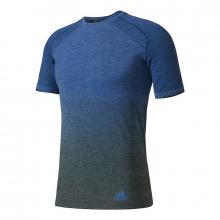 adidas Men's Primeknit Wool Short-Sleeve Tee by Adidas