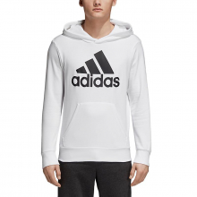 adidas Men's Essentials Linear Pullover Hoodie by Adidas