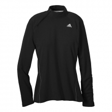 adidas Women's Sequentials Side-Zip Long Sleeve Tee by Adidas