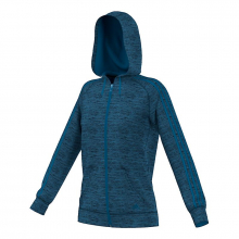 adidas Women's Team Issue 3-Stripe Fleece Full-Zip by Adidas