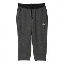 Women's Cotton Fleece 3/4 Pant by Adidas
