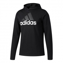 adidas Men's Badge Of Sport Long-Sleeve Hoodie by Adidas