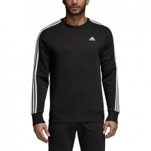 adidas Men's Essentials 3-Stripes Crew Sweatshirt by Adidas